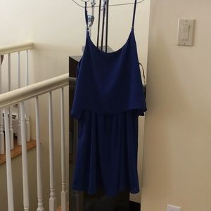 Blue short dress by Sage